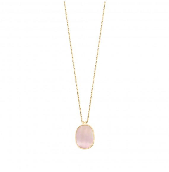 Organic pink mother-of-pearl